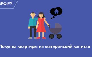 Как воспользоваться материнским капиталом для покупки квартиры?