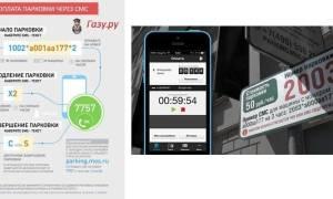 Оплата парковки в москве по смс мтс скачать