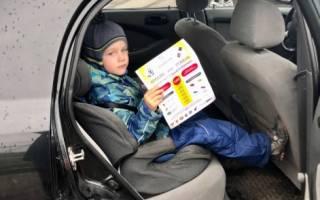 Наказание за провоз ребенка без автокресла