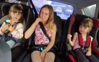 Можно ли везти ребенка без кресла на руках
