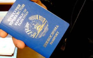 Паспорт таджикистана кем выдан как узнать