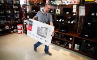Как сдать новый телевизор обратно в магазин