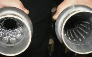 Как сделать пламегаситель из катализатора своими руками