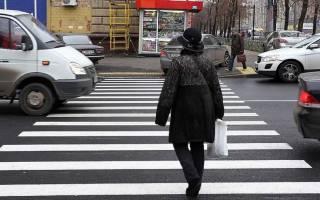 Остановка на пешеходном переходе пдд