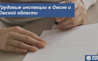 Куда можно обратиться по трудовым спорам в омске адрес