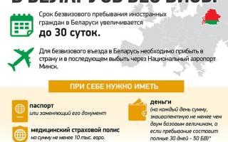 Нужен ли загранпаспорт в белоруссию 2017 году