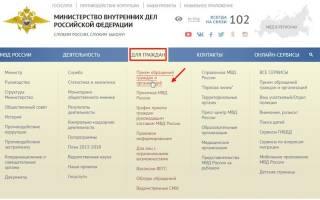 Онлайн обращение в полицию екатеринбург