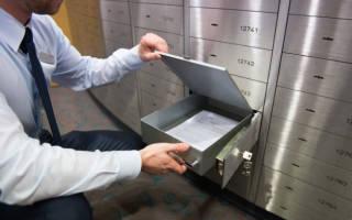 Как пользоваться банковской ячейкой при продаже квартиры?